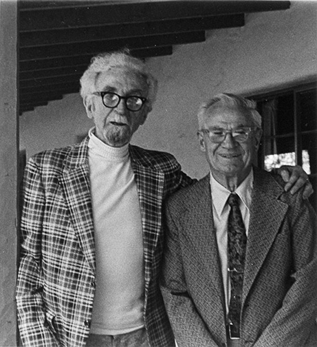 Russell Lee and Birge Clark