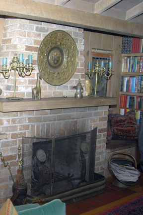 2343 Webster fireplace