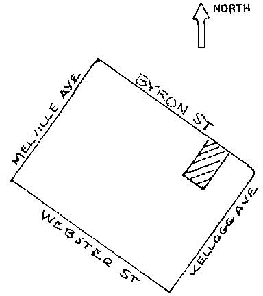 location sketch map