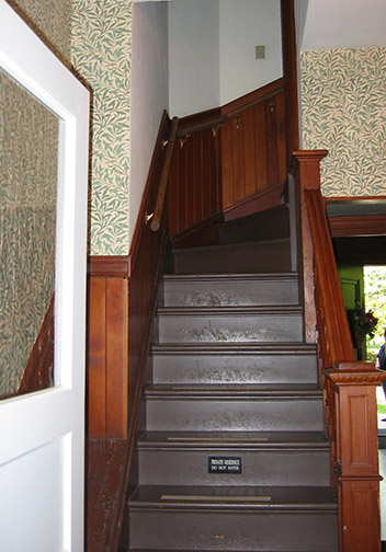 back stairs
