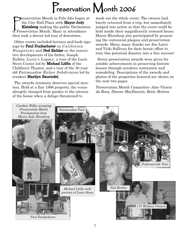2006 Summer Newsletter page 3