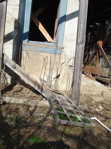 Juana Briones House needing repair