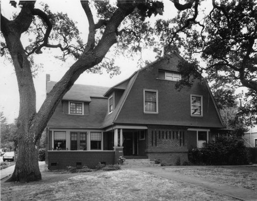 Angell House, Provessorville, Palo Alto