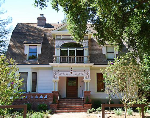 Wing House, Professorville, Palo Alto